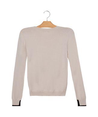 Blusa-Tricot-Detalhe-Punho---Off-White---Tamanho-P