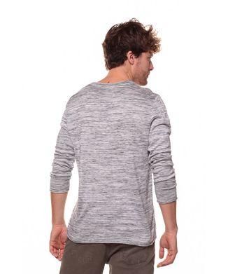 Blusa-Tricot-Mescla---Preto---Tamanho-P