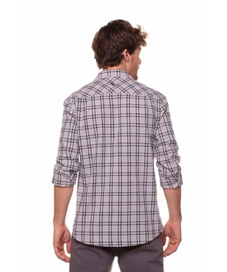 Camisa-Xadrez-Linha-Media---Cinza-Medio---Tamanho-P