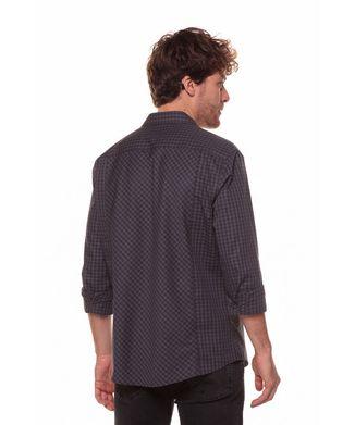 Camisa-Xadrez-Pequeno---Verde-Escuro---Tamanho-P