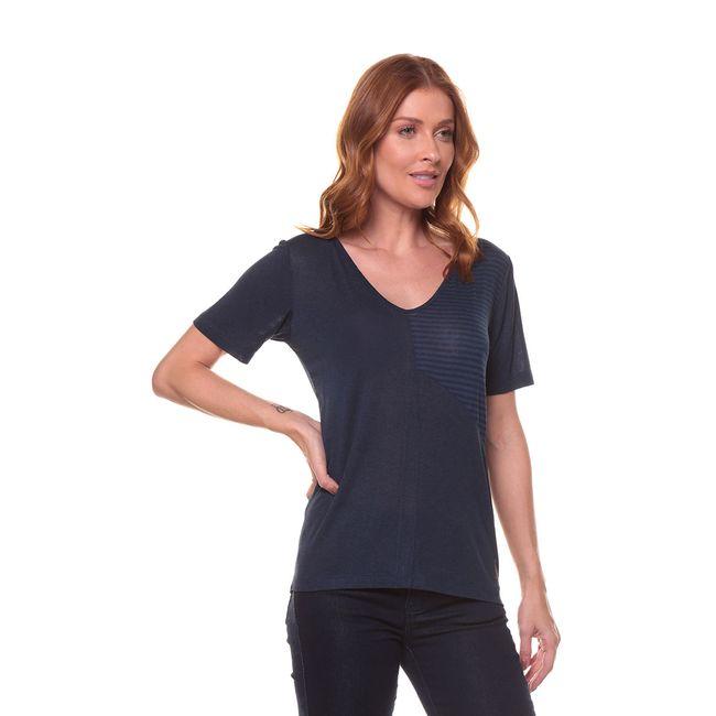Camiseta-Recorte-Listras---Azul-Marinho---Tamanho-P
