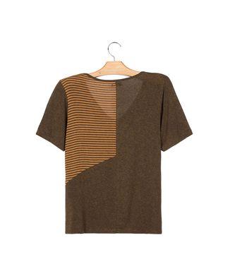 Camiseta-Recorte-Listras---Kaki